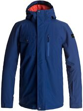 Quiksilver Estate Blue Mission Solid Snowboarding Jacket