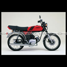 #phm.36730 Photo YAMAHA FS-1 DX FIZZY (FS1 50 DX) 1980 CLASSIC MOPED Moto