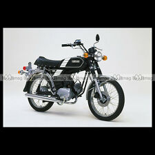 #phm.36758 Photo YAMAHA FS-1 DX FIZZY (FS1 50 DX) 1980 CLASSIC MOPED Moto