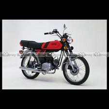 #phm.36773 Photo YAMAHA FS-1 DX FIZZY (FS1 50 DX) 1980 CLASSIC MOPED Moto