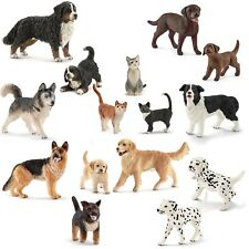 SCHLEICH - Chiens & CHATS - Retriever,Labrador,DALMATE etc