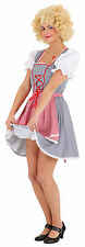 ROBE TRADITIONNELLE sexuelle Tyra Bleu-Rouge NEUF - femmes carnaval