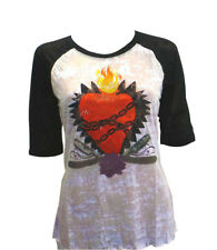 Atticus chained exploding heart ladies t-shirt. Alternative Fashion. New /w Tags