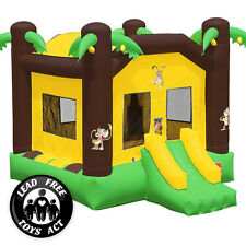 Commercial Grade Bounce House 100% PVC Inflatable Jungle Jumper with Blower