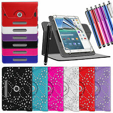 "NUOVO UNIVERSALE 360 Custodia Folio in pelle cover per Android Tablet PC 7 "" 8 """