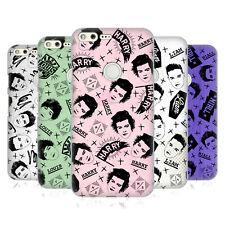 OFFICIAL ONE DIRECTION DOODLE FACE PATTERNS HARD BACK CASE FOR GOOGLE PHONES