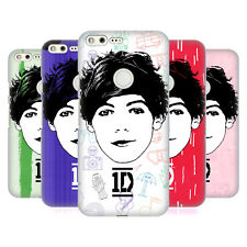 OFFICIAL ONE DIRECTION GRAPHIC FACE LOUIS HARD BACK CASE FOR GOOGLE PHONES