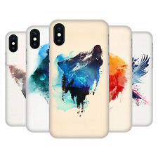 OFFICIAL ROBERT FARKAS ANIMALS HARD BACK CASE FOR APPLE iPHONE PHONES