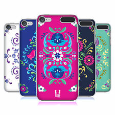 HEAD CASE DESIGNS NORWEGIAN ROSEMÅLING HARD BACK CASE FOR APPLE iPOD TOUCH MP3