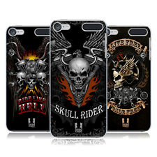 HEAD CASE DESIGNS SKULL BIKERS HARD BACK CASE FOR APPLE iPOD TOUCH MP3