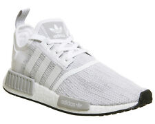 Adidas Nmd R1 Trainers WHITE GREY CORE BLACK Trainers Shoes