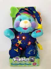2001 Toymax Popples Snoozy Time Popple New In Box Lights Working Rare