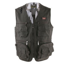 Men's Cotton Fly Vest Waistcoat Photography Wading Trout Fishing Jacket Vest