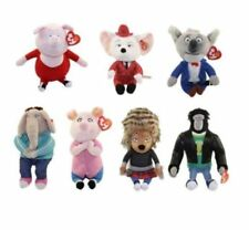 TY BEANIE BABIES 'SING' 2017 PLUSH SOFT TOY - COLLECT ALL 7