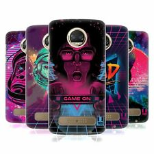 HEAD CASE DESIGNS THE 80'S GRAPHIC VIBES HARD BACK CASE FOR MOTOROLA PHONES 1