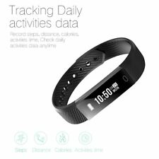 Bluetooth Smart Watch Bracelet Heart Rate Monitor Sport Fitness Tracker Lot GA
