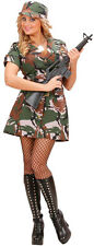 US army soldat fille costume NEUF - femmes carnaval déguisement costume