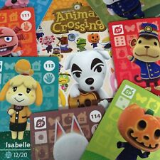 US Amiibo - Animal Crossing - Series 2 Cards Pick Your Own 101-117 Nintendo 3DS