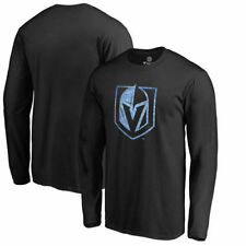 Vegas Golden Knights Fanatics Branded Pond Hockey Long Sleeve T-Shirt - Black
