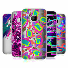 HEAD CASE DESIGNS COLOURFUL ABSTRACT SOFT GEL CASE FOR HTC PHONES 1