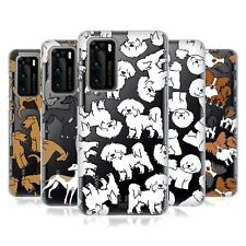 HEAD CASE DESIGNS DOG BREED PATTERNS 4 SOFT GEL CASE FOR HUAWEI PHONES
