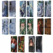 OFFICIAL ANNE STOKES YULE LEATHER BOOK WALLET CASE COVER FOR SAMSUNG PHONES 1