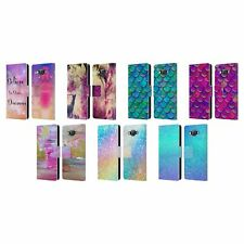 OFFICIAL HAROULITA GLITTER SPARKLE LEATHER BOOK WALLET CASE FOR SAMSUNG PHONES 2