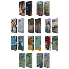 OFFICIAL MASTERS COLLECTION PAINTINGS 1 LEATHER BOOK CASE FOR SAMSUNG PHONES 2