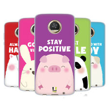 HEAD CASE DESIGNS HAPPY ANIMALS SOFT GEL CASE FOR MOTOROLA PHONES