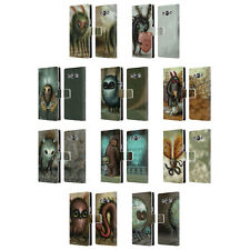 OFFICIAL JASON LIMON ALIENS LEATHER BOOK WALLET CASE COVER FOR SAMSUNG PHONES 3