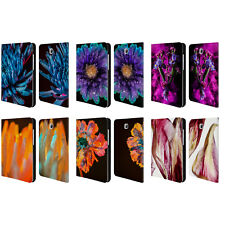 OFFICIAL ELENA KULIKOVA BLOOMS LEATHER BOOK CASE FOR SAMSUNG GALAXY TABLETS
