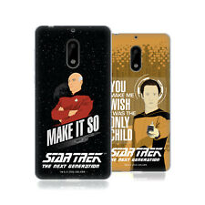 OFFICIAL STAR TREK ICONIC PHRASES TNG SOFT GEL CASE FOR NOKIA PHONES 1