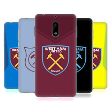 OFFICIAL WEST HAM UNITED FC 2017/18 CREST KIT SOFT GEL CASE FOR NOKIA PHONES 1