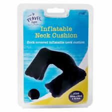 Inflatable Travel Neck Cushion Soft Travel Pillow Airplane Cushion Head Support