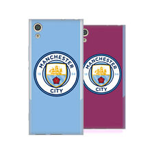 MANCHESTER CITY MAN CITY FC BADGE KIT 2017/18 SOFT GEL CASE FOR SONY PHONES 1
