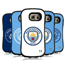OFFICIAL MANCHESTER CITY MAN CITY FC BADGE HYBRID CASE FOR SAMSUNG PHONES