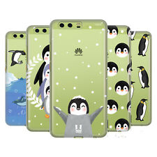 HEAD CASE DESIGNS PENGUIN COLLECTION HARD BACK CASE FOR HUAWEI PHONES 1