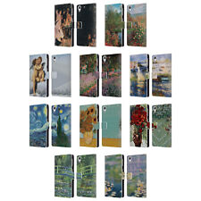 OFFICIAL MASTERS COLLECTION PAINTINGS 1 LEATHER BOOK CASE FOR HTC PHONES 2