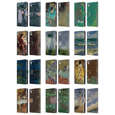 OFFICIAL MASTERS COLLECTION PAINTINGS 2 LEATHER BOOK CASE FOR HTC PHONES 2