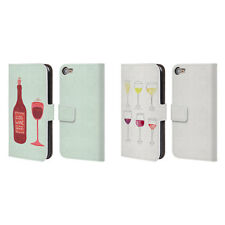 OFFICIAL CAT COQUILLETTE WINE LEATHER BOOK WALLET CASE FOR APPLE iPOD TOUCH MP3