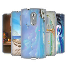 OFFICIAL GENO PEOPLES ART HOLIDAY SOFT GEL CASE FOR ZTE PHONES
