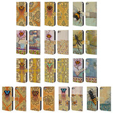 OFFICIAL RACHEL PAXTON INSECTS LEATHER BOOK WALLET CASE FOR APPLE iPOD TOUCH MP3