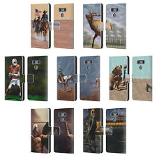 OFFICIAL GENO PEOPLES ART LIFE LEATHER BOOK WALLET CASE COVER FOR LG PHONES 1