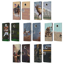 OFFICIAL GENO PEOPLES ART LIFE LEATHER BOOK WALLET CASE FOR MOTOROLA PHONES