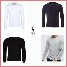 Brand New Ralph Lauren Polo Men's Long Sleeve Crew Neck T-shirt Tee
