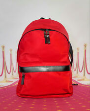 MICHAEL KORS KENT CRIMSON Red Backpack New With Tag FREE SHIPPING