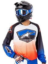 Alpinestars Red-Blue-White 2017 Racer Supermatic MX Jersey