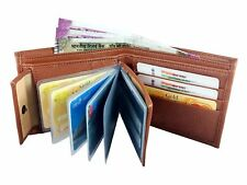 High Quality Stylish PU Leather Wallet with card slots for men