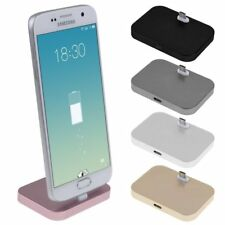 Desktop Micro USB Charger Charging Dock Station Cradle Holder For Android Phone