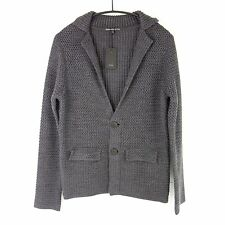 DRYKORN MAGLIONE CARDIGAN UOMO tg. S SERGIO lana giacca a maglie grosse caldo NP
